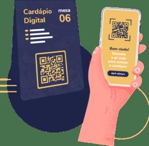 cardápio digital por qr code