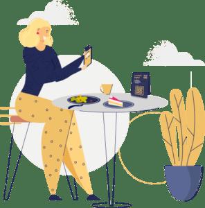 Cardápio digital para mesas